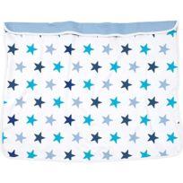 DOOKY - Couverture bébé étoiles bleu