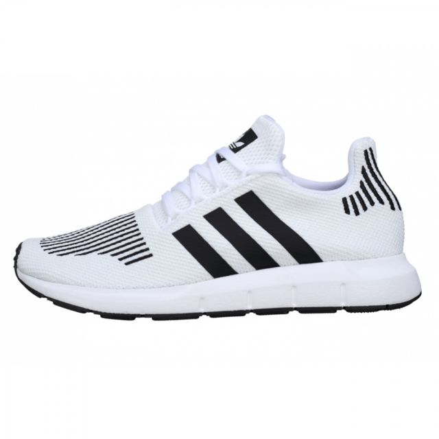 Adidas originals - Basket Swift Run - Ref. Cq2116 Blanc - pas cher Achat   Vente  Baskets homme - RueDuCommerce 8dd1c743ab4e
