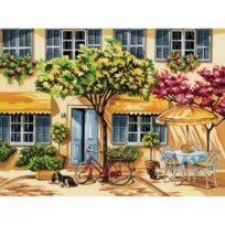 Reeves - Colart - Peinture par numéros - Maison fleurie