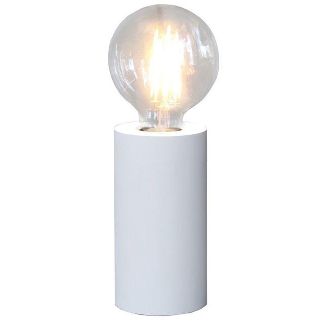 Star Lampe a poser Tub 15cm Blanc