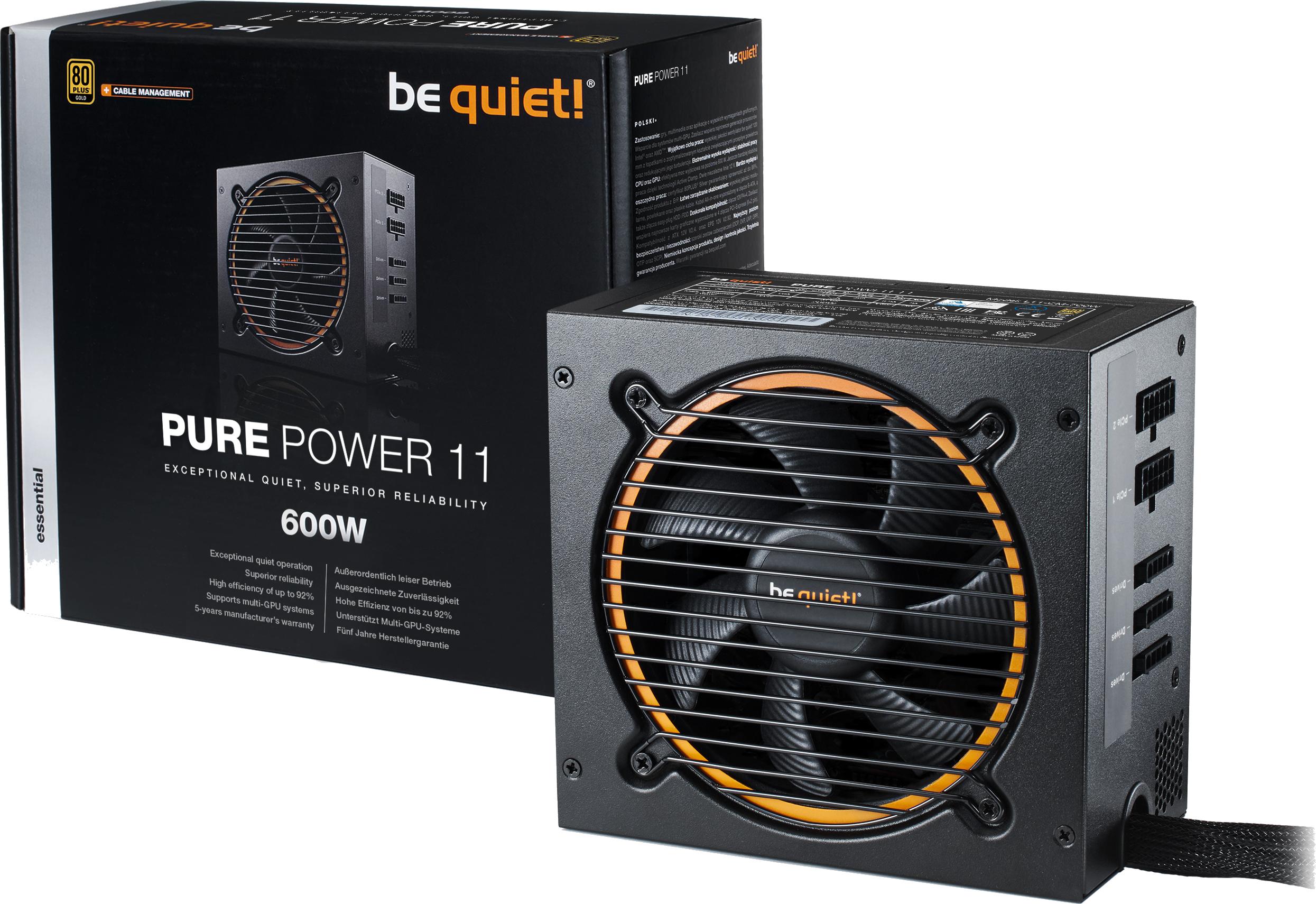 PURE POWER 11 CM 600W - 80 Plus Gold