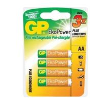 Gp Batteries - Gp - Gp 4 Piles Aa Ecopower 1050 maH