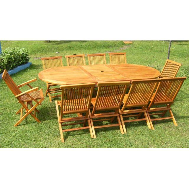 Table De Jardin En Bois - Achat/Vente Table De Jardin En Bois Pas