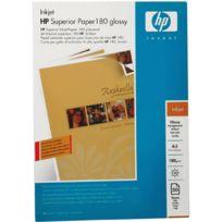 Hp - papier photo glacé recto/verso a3 - paquet de 50 feuilles