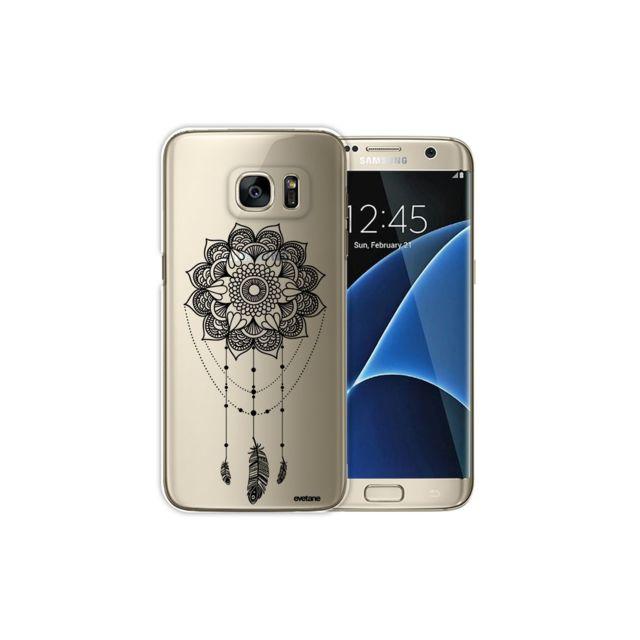 a3e93a0266887d Evetane - Coque Samsung Galaxy S7 Edge rigide transparente, Tattoo ...