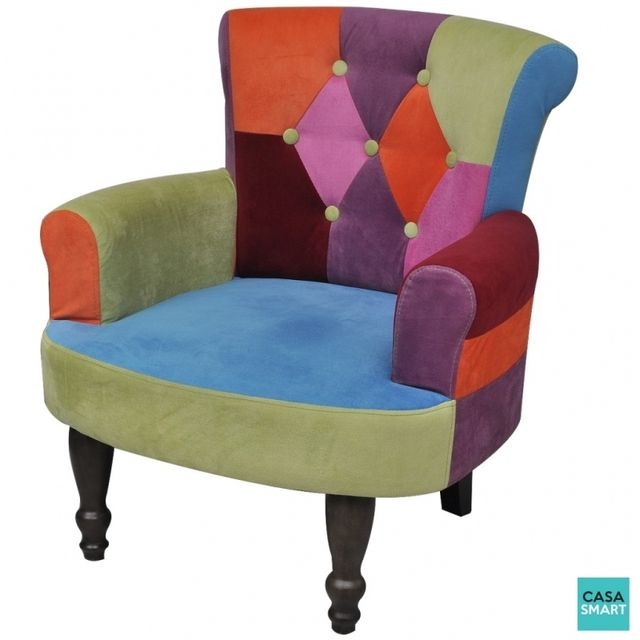 Casasmart Fauteuil Heston comfort multicolore