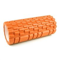 CAPITAL SPORTS - Yoyogi Traversin caoutchouc dur masseur 33,5cm -orange