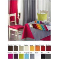 Bonareva - Nappe polyester rectangle 140 x 300 cm Rouge
