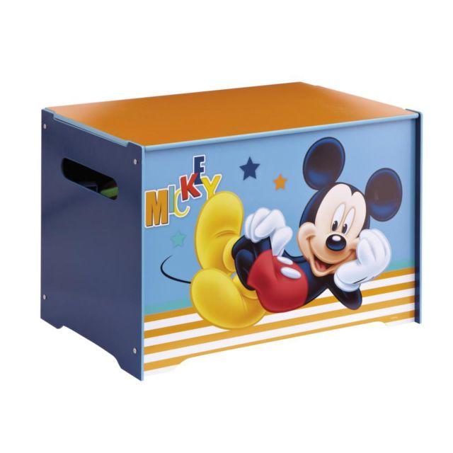 ROOM STUDIO Coffre à jouets Disney Mickey