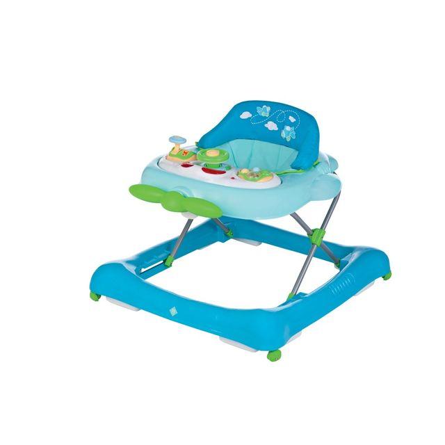 TEX BABY - Trotteur bébé AVION - Turquoise
