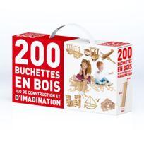 LG DISTRIBUTION - Boite 200 buchettes en bois - 2000