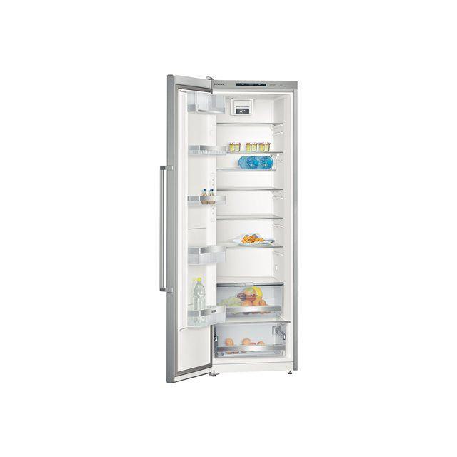 SIEMENS - réfrigérateur 1 porte 60cm 346l a++ brassé inox - ks36wpi30
