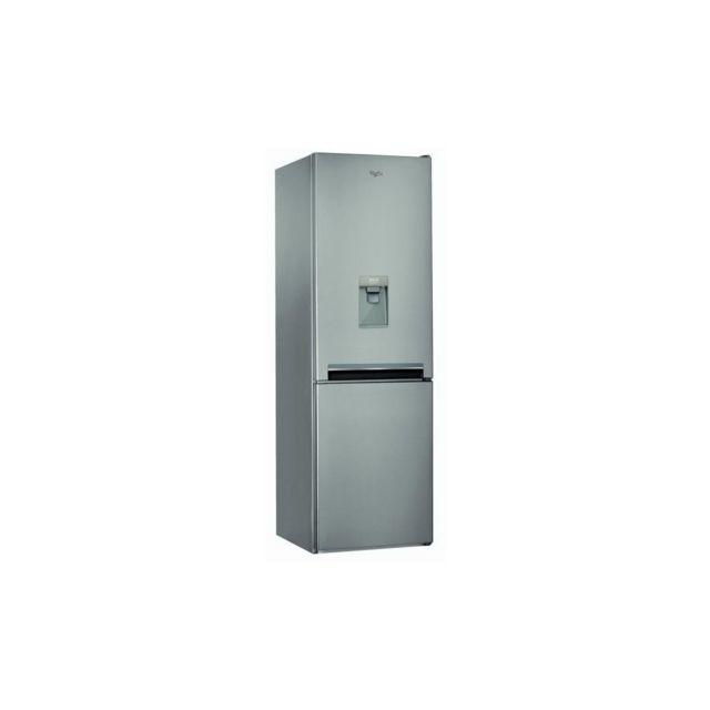 whirlpool bsnf8101oxaqua refrigerateur congelateur bas 319 l 222 l 97 l froid total no frost. Black Bedroom Furniture Sets. Home Design Ideas