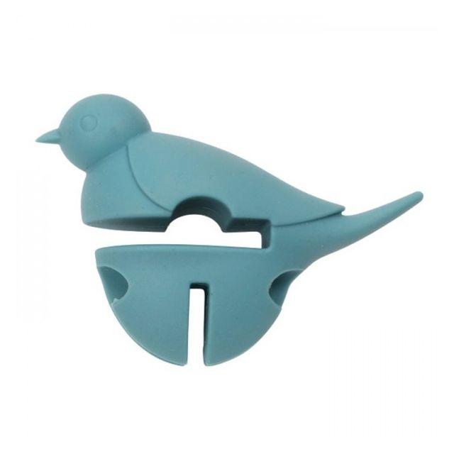 Chevalier Diffusion Repose cuillère Petit oiseau bleu 3 en 1 - Dexam