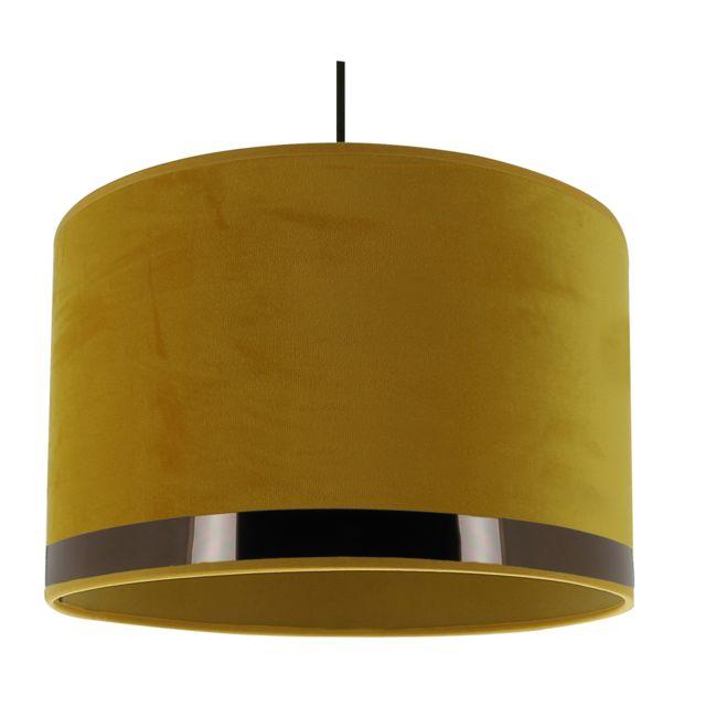 Metropolight , Suspension Art Deco jaune/or rosé , pas cher