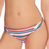 Freya - Culotte de bikini échancrée Beach candy sorbet