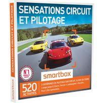 Smartbox - Sensations circuit et pilotage - 520 activités : stages de pilotage jusqu'à 3 tours Lamborghini, Ferrari, Porsche, sur des circuits d'exception : Magny-cours, Montlhéry, Charade - Coffret Cadeau