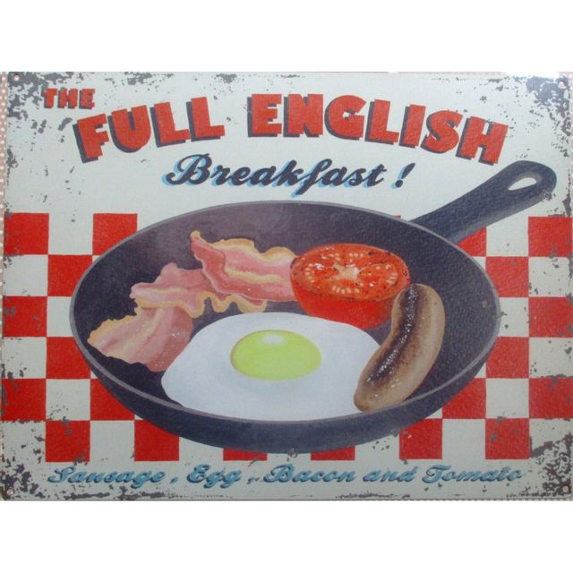 Universel Plaque full english breakfast deco cuisine restaurant snack
