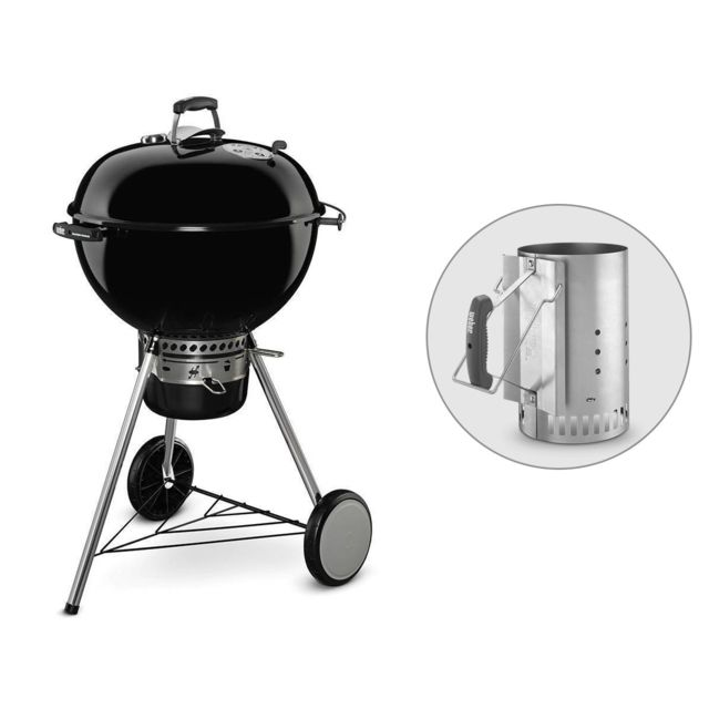 weber barbecue master touch gbs 57 cm chemin e d. Black Bedroom Furniture Sets. Home Design Ideas