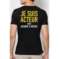 Jacquie Et Michel - T-shirt Jacquie & Michel Acteur