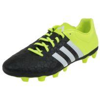 new concept 24792 6c819 Adidas - Chaussures football lamelles Ace 15.4 fg nr vrt Noir 48819