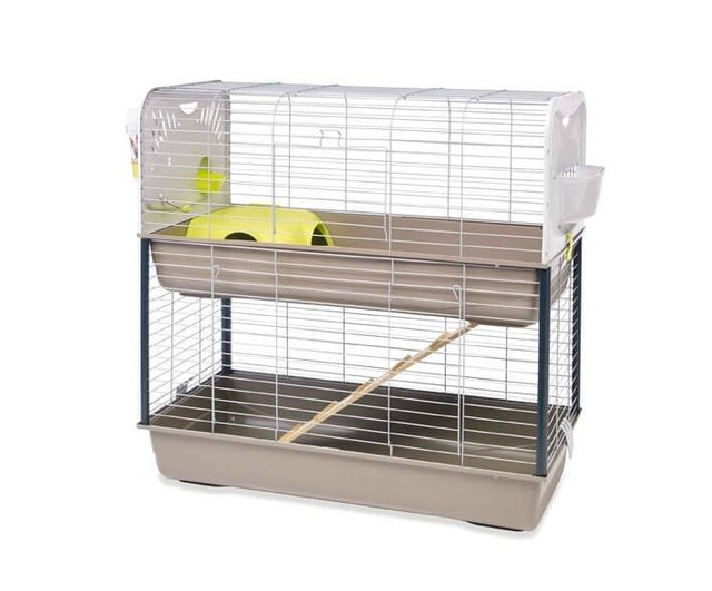 animal valley cage lapin et cochon d 39 inde caesar 3 double pas cher achat vente cage pour. Black Bedroom Furniture Sets. Home Design Ideas