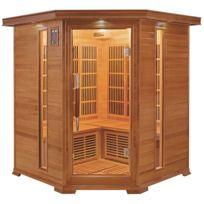 France Sauna - Luxe 3/4 places sauna infrarouge