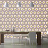 Bimago - A1-SNEW010169 - Papier peint - Dancing daisies in autumn 100x70