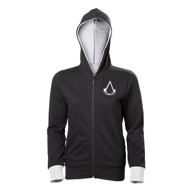 Livraison gratuite dans le monde entier codes promo couleur attrayante Assassin'S Creed Movie - Sweat Find Your Past Hoodies Girl S