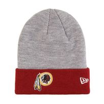 New Era - Bonnet Washington Redskins Cuff Badge Gris