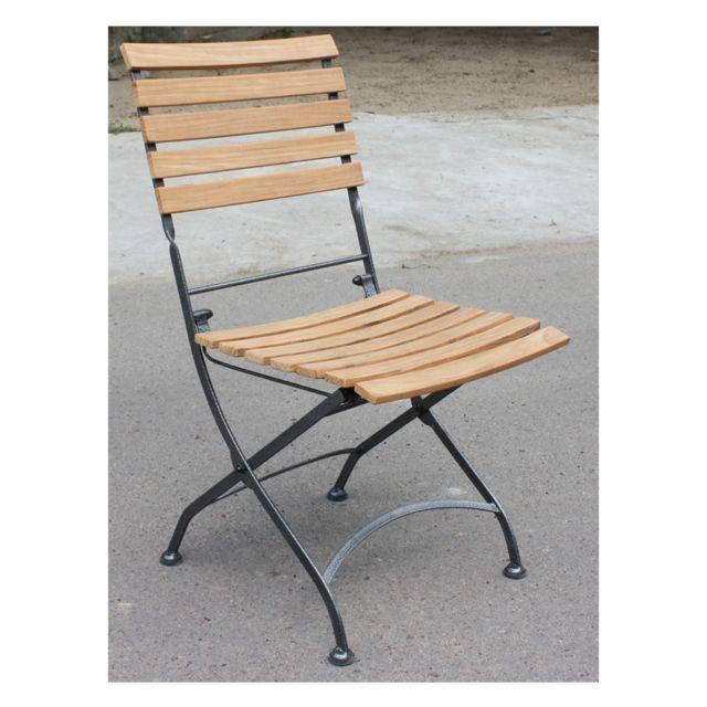Chaise fer forge carrefour good structure en fer forg - Mobilier jardin fer forge pas cher saint denis ...