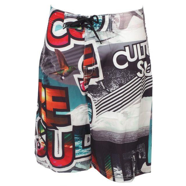 Culture Sud - Boardshort de bain Ulster boardshort Blanc 37604 XL