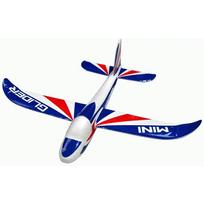 NINCO - Petit planeur lancé main bleu 310mm