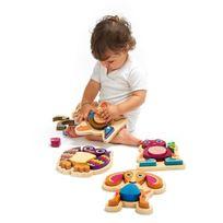 Oops ! - Neotilus Happy Puzzle - Hibou - Puzzle a Encastrer 9 pieces