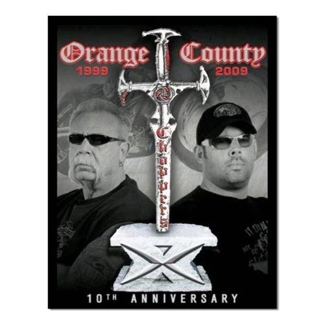Universel Plaque orange county choppers epée Occ tole affiche metal