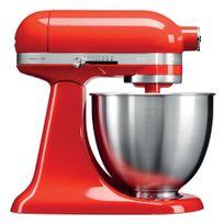 KITCHENAID - mini robot pâtissier multifonction 3.3l 250w rouge piment - 5ksm3311xeht