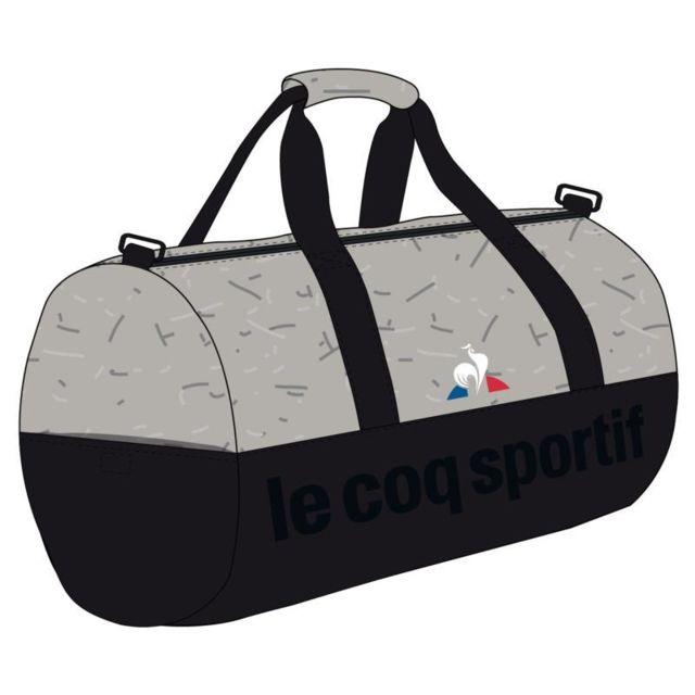 dd8f7cd84e Le Coq Sportif - Sacs Sportbag Coq Sportif Gris Noir - pas cher ...