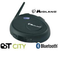 Midland - Intercom Bluetooth Moto Bt City Solo classic