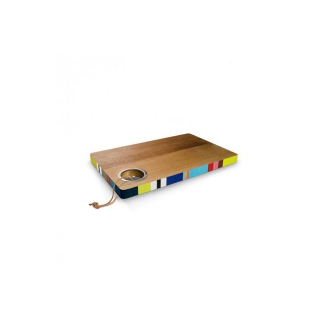 Remember Planche à découper en bois Verano 32 x 20 x 2 cm