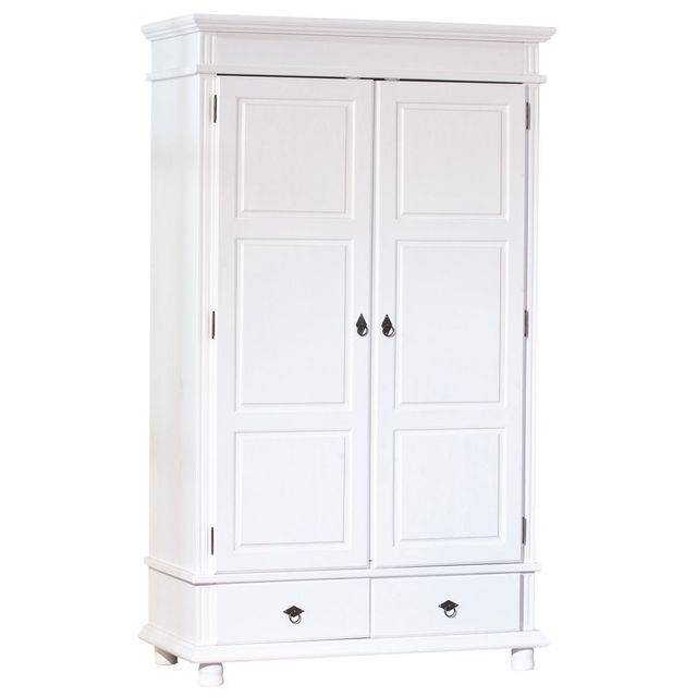armoire pin blanc. Black Bedroom Furniture Sets. Home Design Ideas