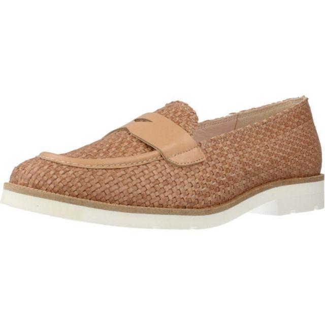 Kess Mocassins et chaussures bateau femme 16156M , Marron