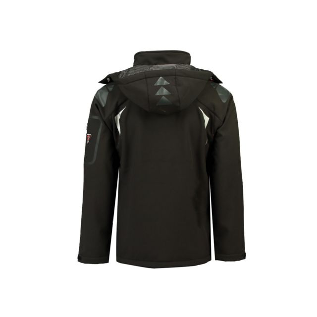 GEOGRAPHICAL NORWAY Softshell Homme Turbo Noir
