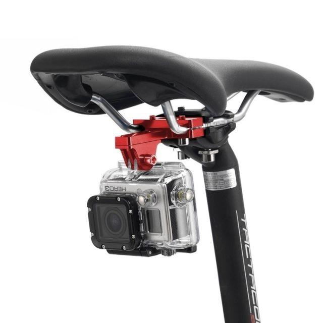 Wewoo - Fixation guidon GoPro rouge pour Hero6   5 5 Session   4 Session a076a79d7743