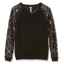 Kaporal Kenny Pull Fille - Taille 12 ans - Noir