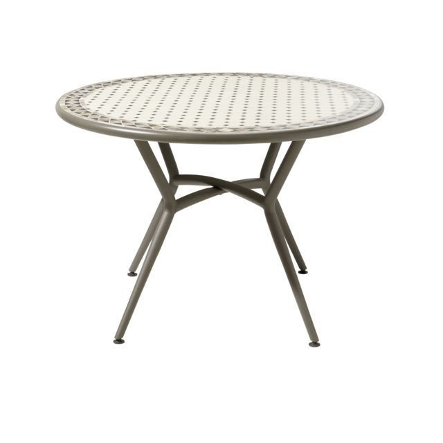 Choquant Table Jardin Metal Ronde Table Ronde Metal Jardin Carrefour ...