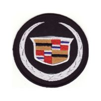 Universel - Patch cadillac logo ecusson thermocollant voiture americaine