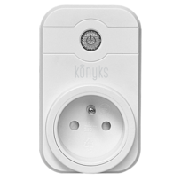 KONYKS - Prise pilotée Wifi compatible Google Home et Amazon Alexa
