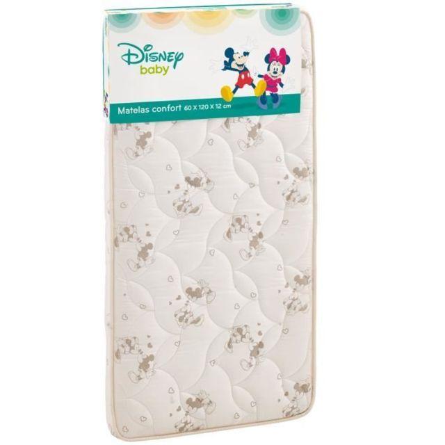 MATELAS BEBE BABY Mickey et Minnie matelas lit - 60 x 120