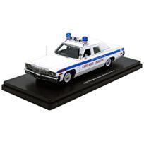 Auto World - Awr1142 - VÉHICULE Miniature - ModÈLE À L'ÉCHELLE - Dodge Monaco - Police Chicago - 1974 - Echelle 1/43