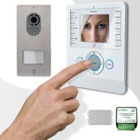 CAME - Interphone vidéo BIANCA PLACO adapté installations 001CK0004